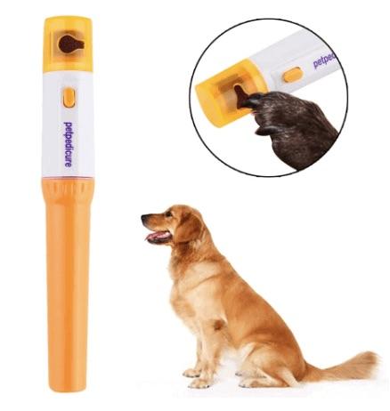 Cortador de uñas eléctrico para perros