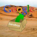 sandbox google paginas web