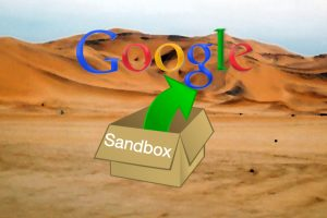sandbox google paginas web