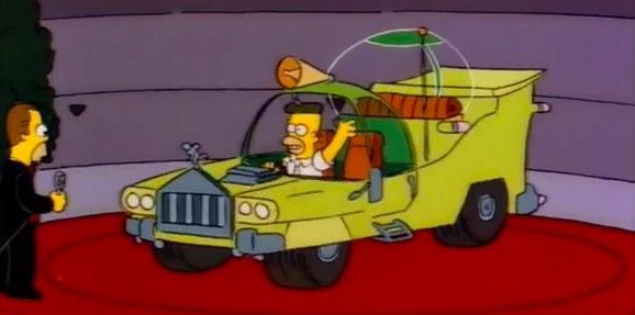 Coche de Homer