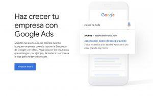 mejora tu campaña de google ads en tus anuncios