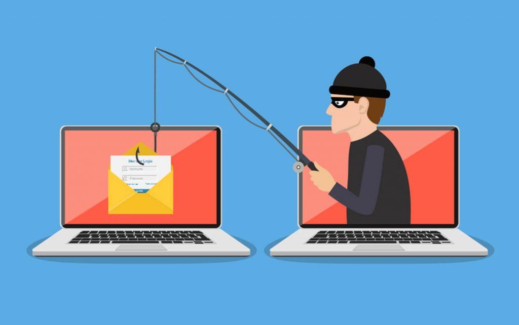 cuidado que te roban datos y dinero por el email
